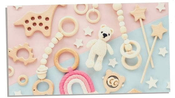 Baby toys kept from first pregnancy