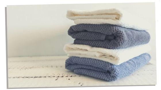 Bath towel for dads hospital bag