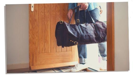 Packing dad hospital bag
