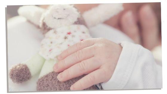 Cuddly toy for newborn baby