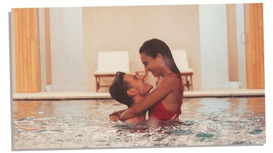 fun activities swimming couple